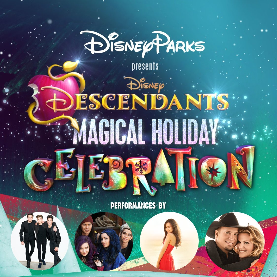 Disney Parks to Host Three Holiday Specials for ABC and Disney Channel