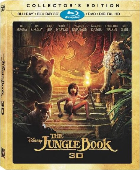 3D Blu-Ray Review: The Jungle Book Collector's Edition