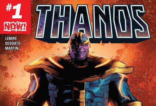 "Comic Review: ""Thanos #1"""