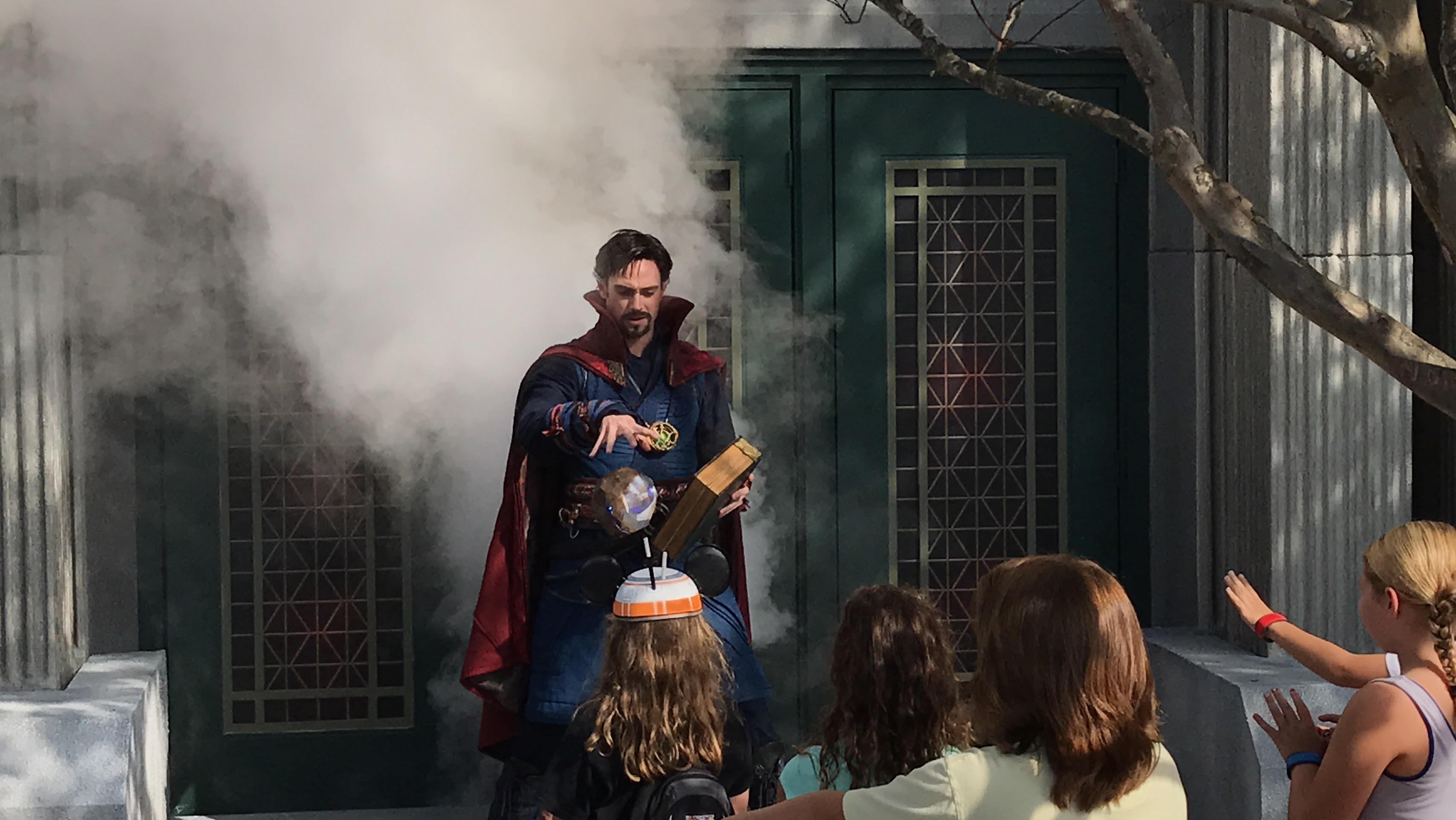 Doctor Strange Demonstrates Mystic Arts to Guests in Disney's Hollywood Studios