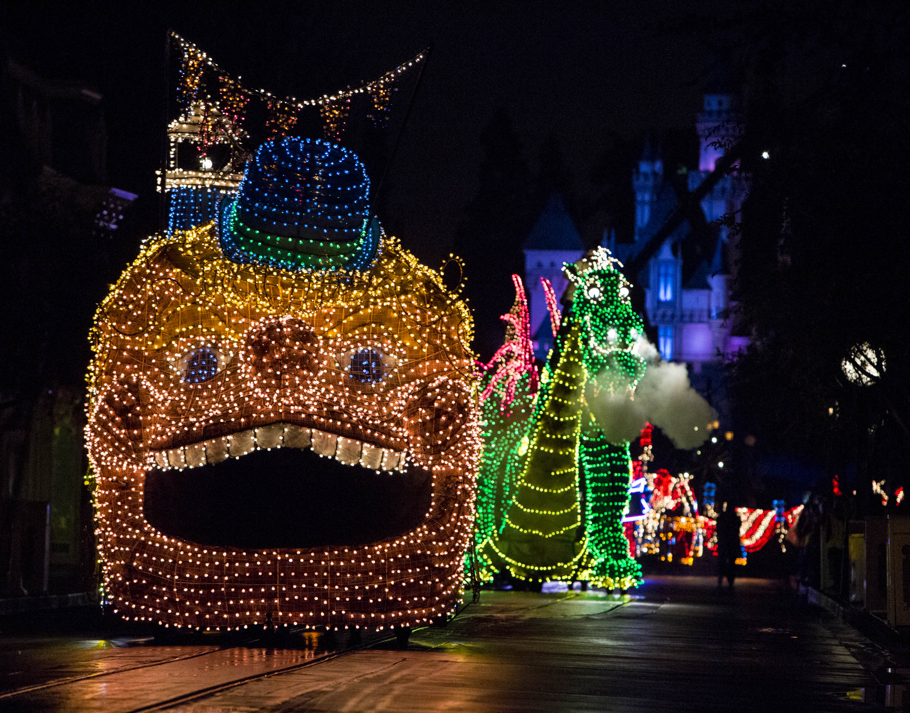 Disneyland Releases New Main Street Electrical Parade Photos Ahead of Its Return Tonight