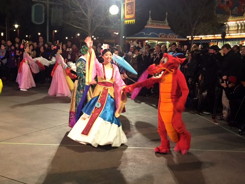 Lunar New Year Celebration Returns to the Disneyland Resort with Exclusive Entertainment