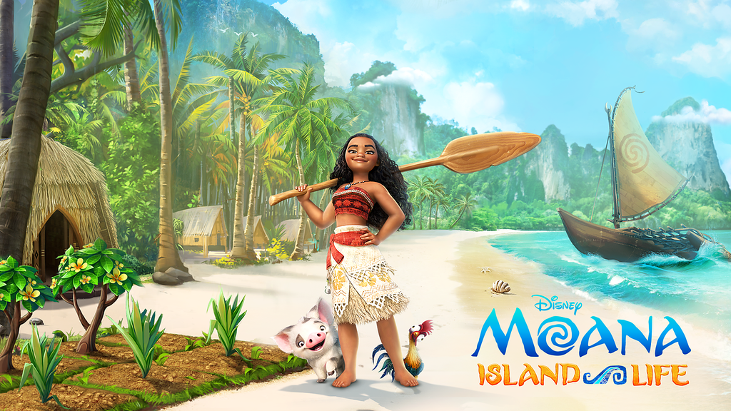 Moana Island Life Brings the Hit Film to Mobile Devices