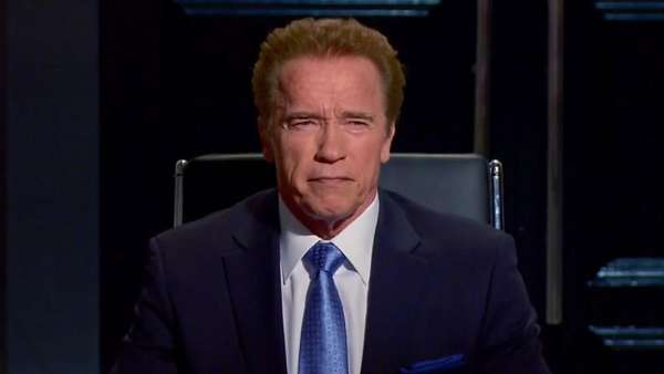 "Actor ""Interviews"" Arnold Schwarzenegger About His Favorite Pixar Film in Hilarious Clip"