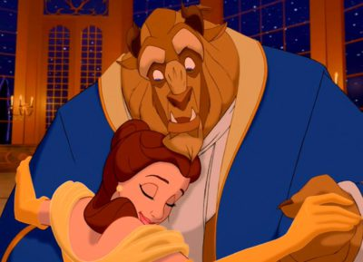 Romantic Disney film — Beauty and the Beast