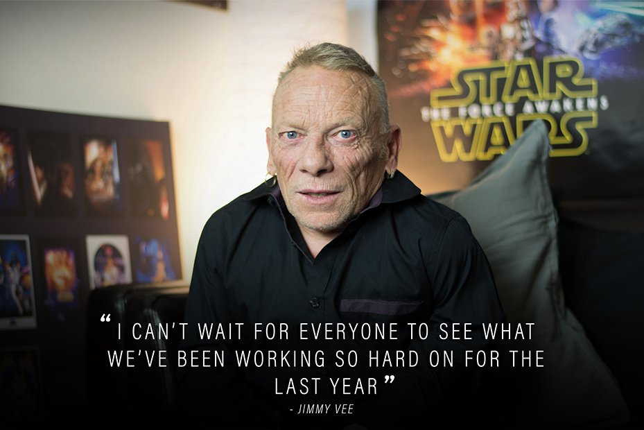 Jimmy Vee is the New R2-D2