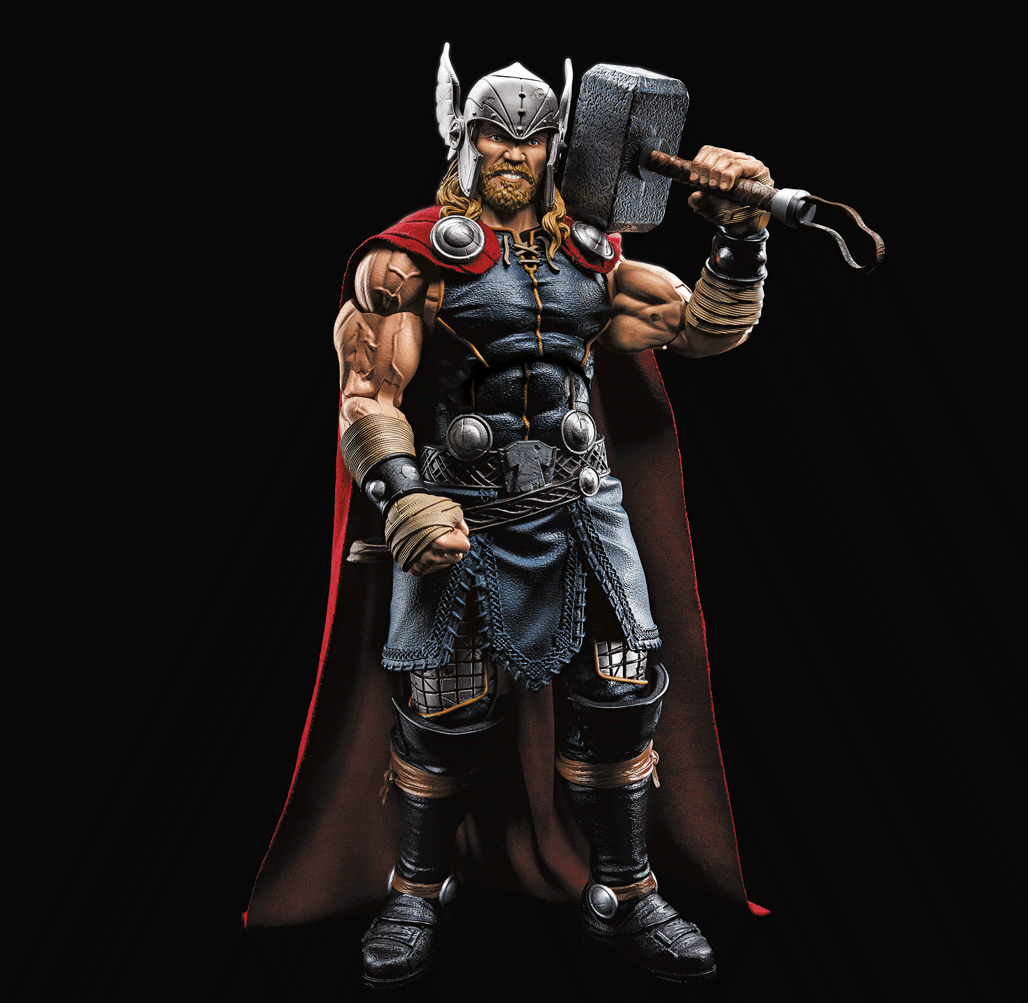 Hasbro Reveals New Marvel Legends Thor, Hulk, and Deadpool Figures