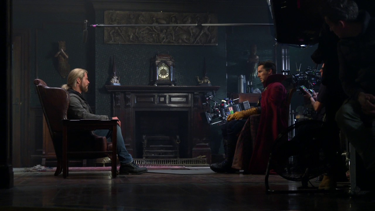 Doctor Strange Meets Thor in New Bonus Content