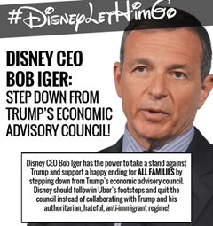 Union Protests Against Bob Iger's Position on Trump's Council