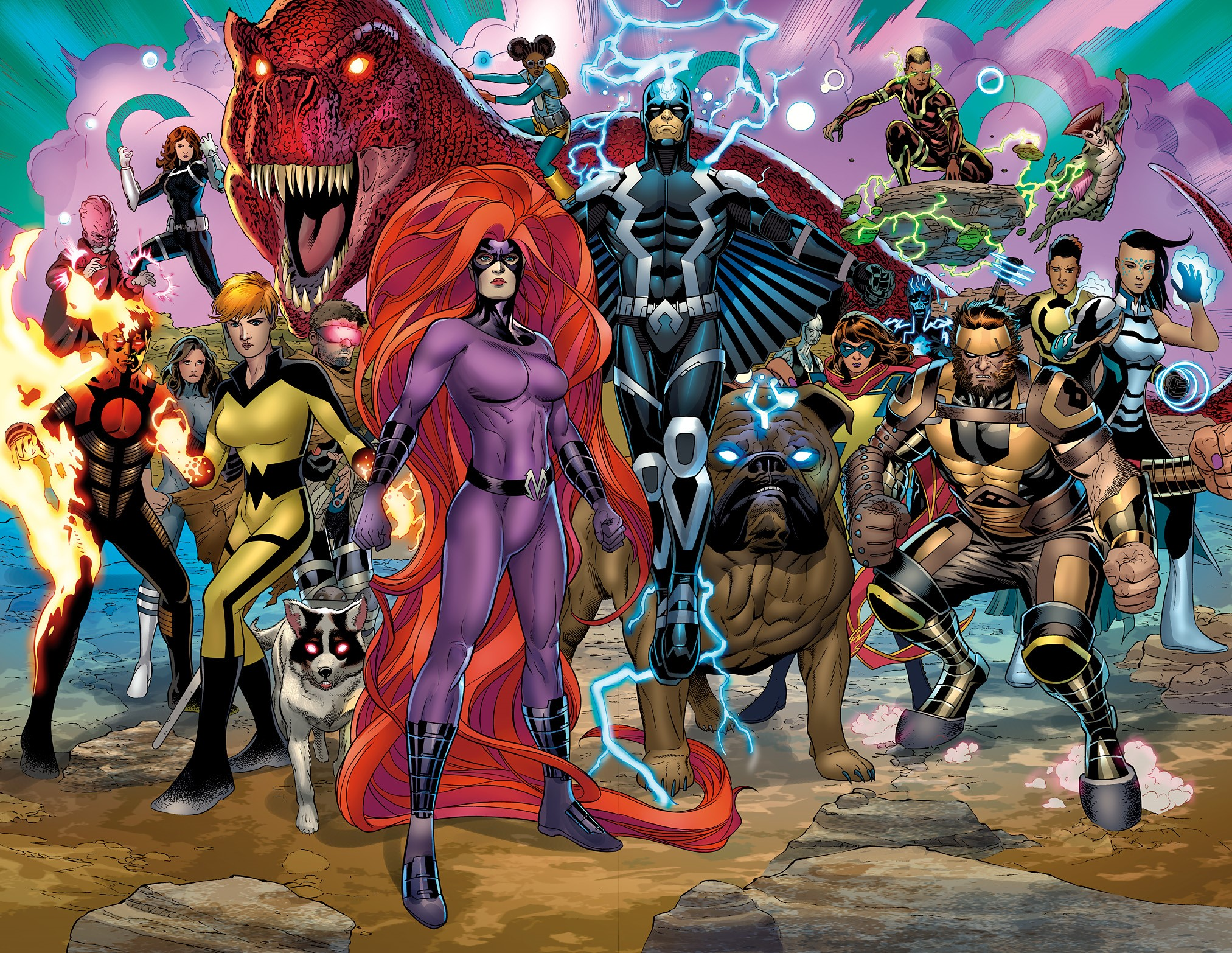 The Future of the Inhumans Begins in Inhumans Prime #1