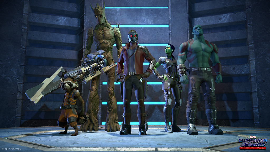 Marvel's Guardians of the Galaxy: The Telltale Series Debuts First Look