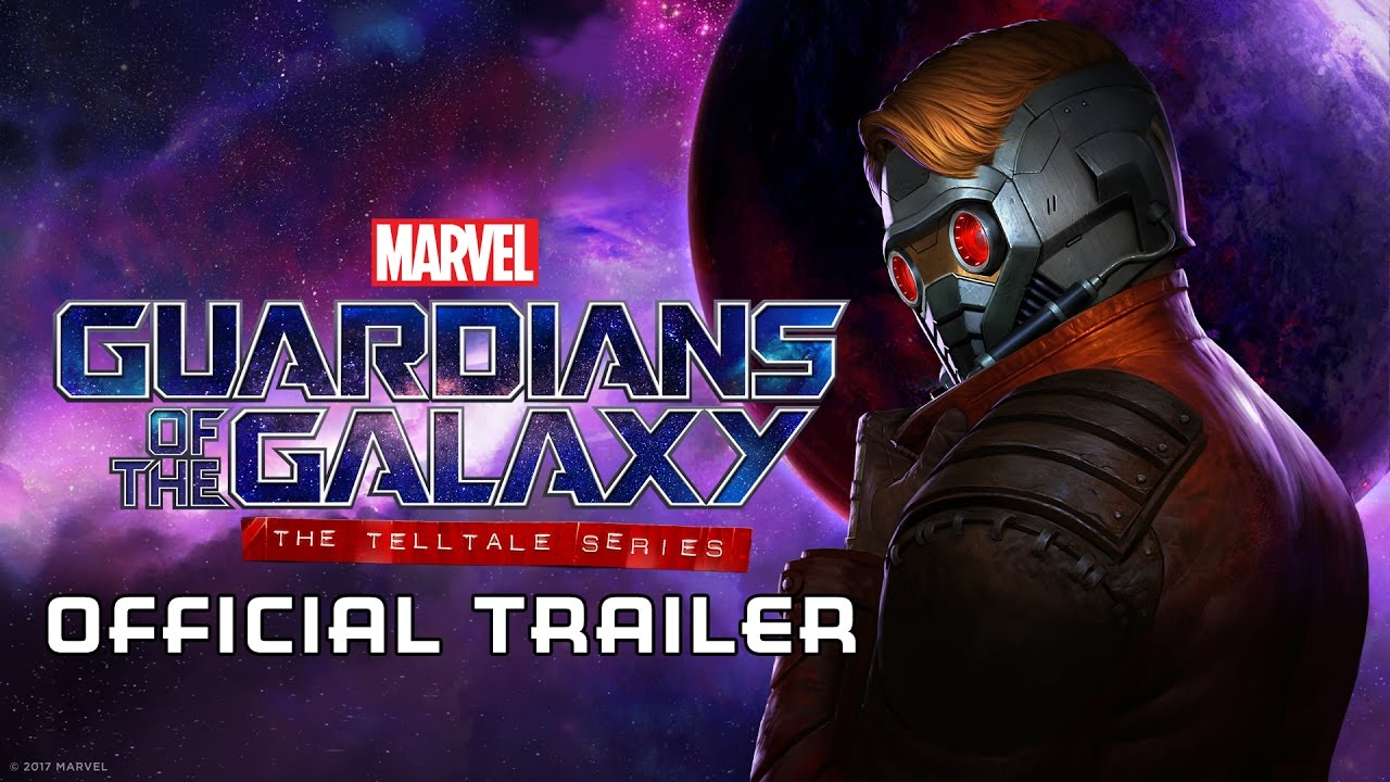 Guardians of the Galaxy: The Telltale Series Trailer Released