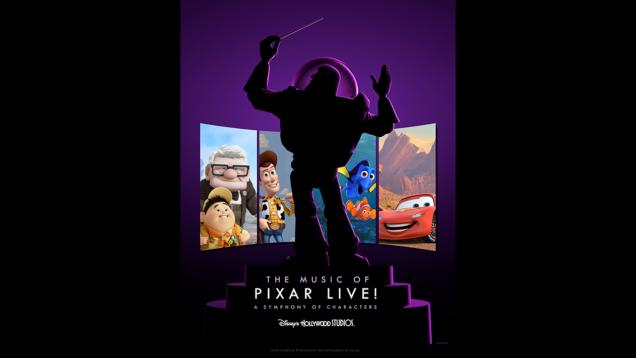 The Music of Pixar Live!