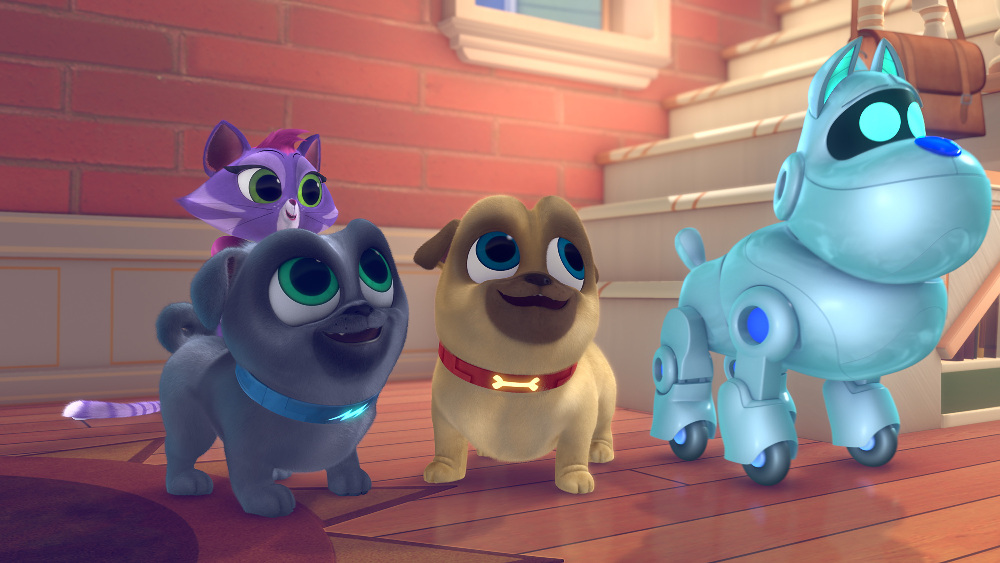 "TV Review: Disney Junior's ""Puppy Dog Pals"""