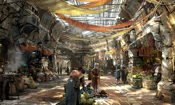 New Star Wars Land Concept Art and Behind-the-Scenes Footage Gets Fans Excited