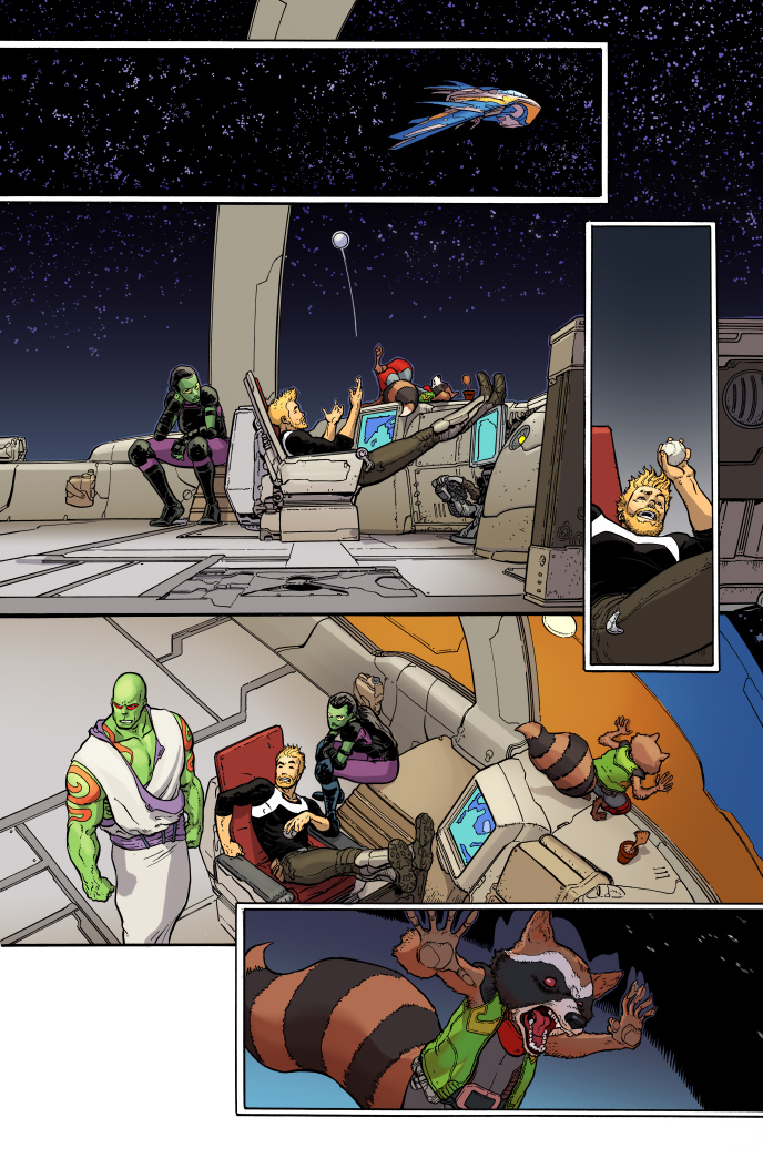 Marvel Previews of All-New Guardians of the Galaxy #1