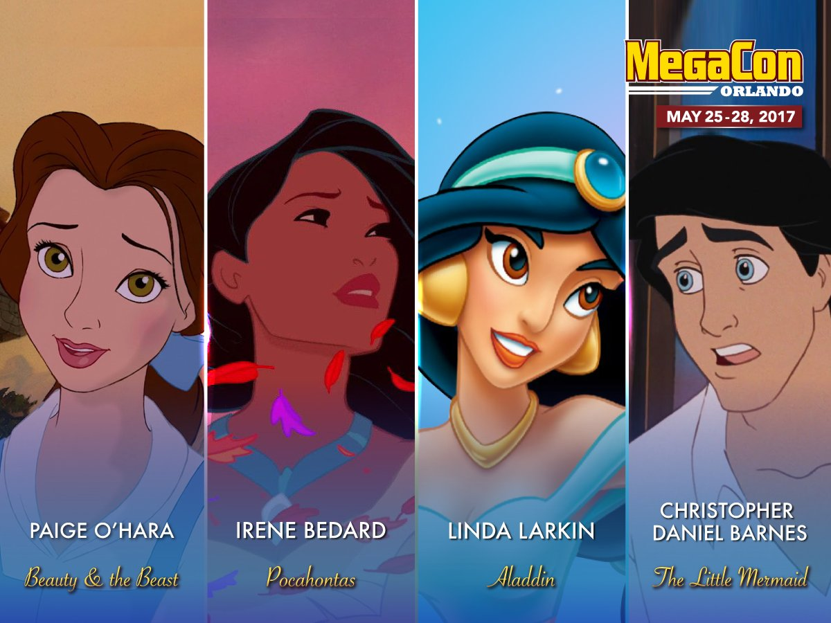 Paige O'Hara, Linda Larkin, and Other Disney Alums to Appear at MegaCon Orlando