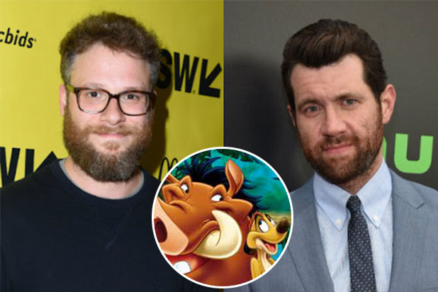 """Seth Rogen and Billy Eichner Reportedly in Talks to Join """"The Lion King"""""""