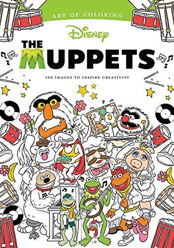 Coloring Book Review: The Muppets (Art of Coloring)