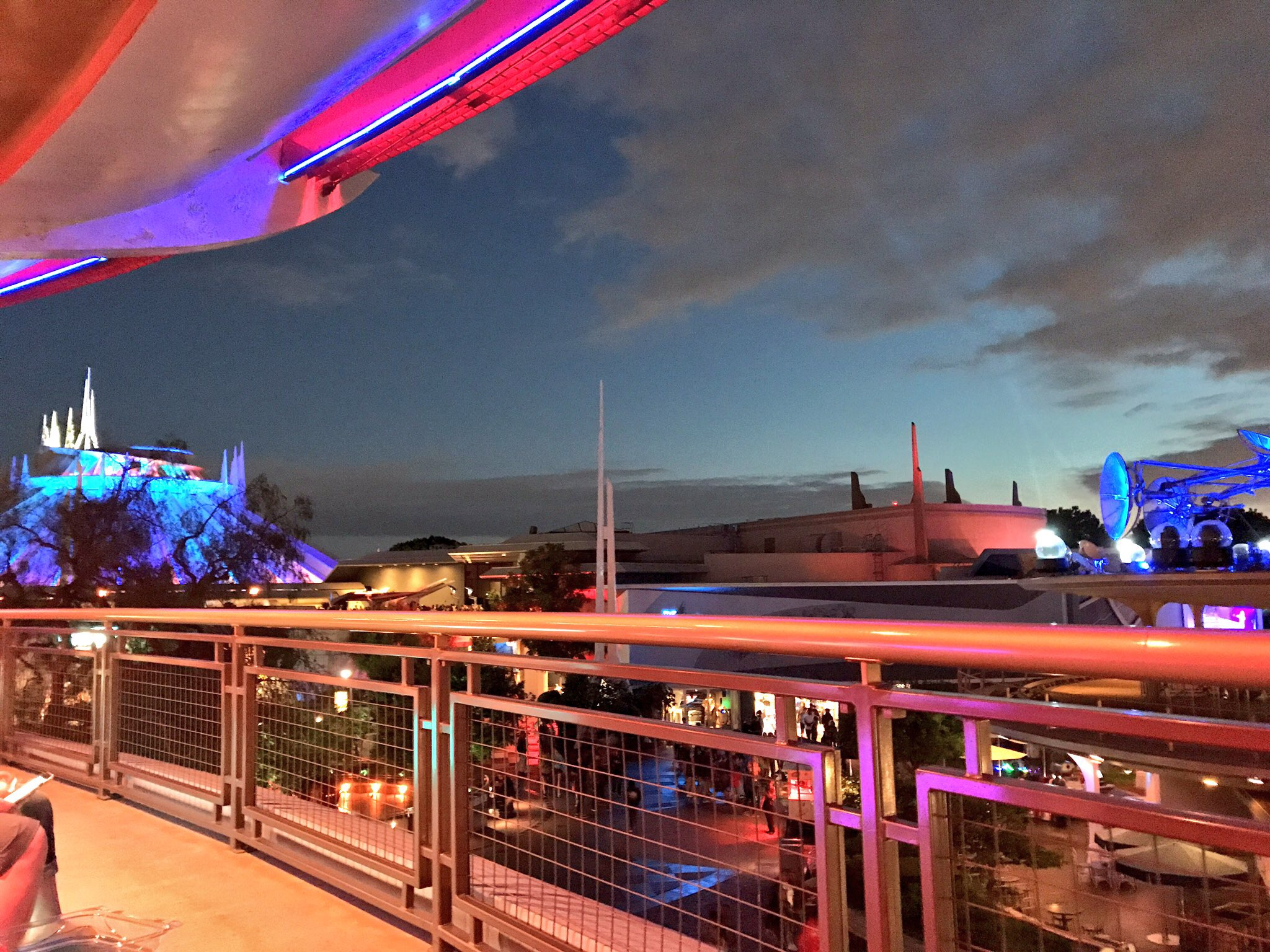 Skyline Lounge Experience Debuts in Disneyland's Tomorrowland
