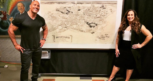 What is The Rock Cooking for the Jungle Cruise?