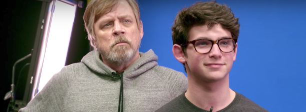 Mark Hamill Surprises Fans in New Star Wars: Force for Change Video
