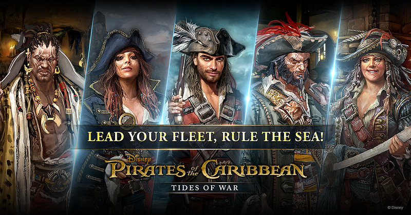 "Game Review — ""Pirates of the Caribbean: Tides of War"""