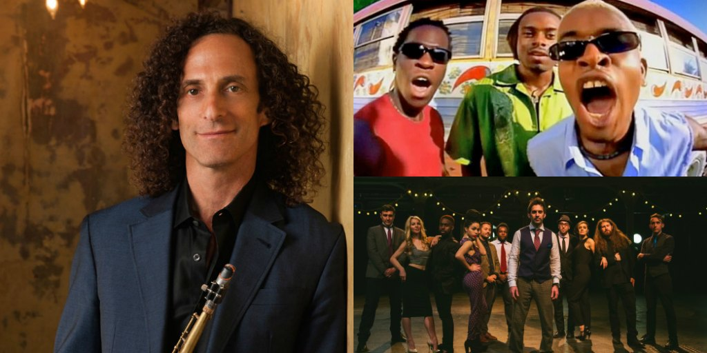 2017 Eat to the Beat Concert Series Announced, Including Postmodern Jukebox, Blue October, Kenny G and More