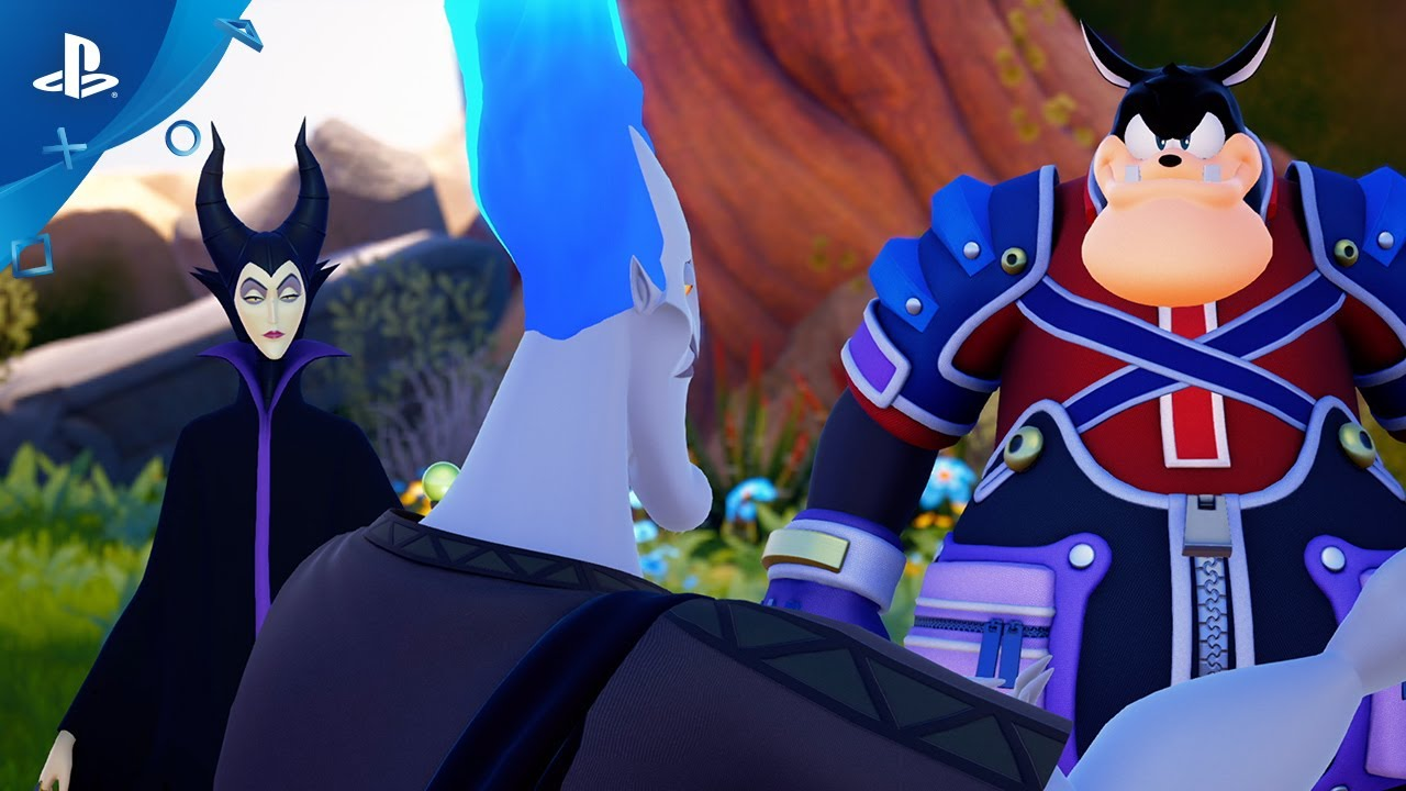 New Kingdom Hearts Footage Debuts at Concert, More Coming at D23