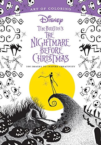 Book Review: Art of Coloring - The Nightmare Before Christmas
