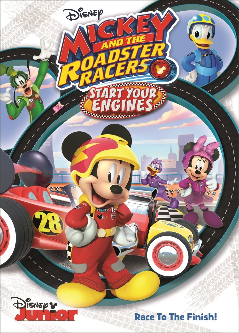 DVD Review - Mickey and the Roadster Racers: Start Your Engines