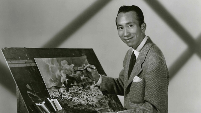 Portrait of Tyrus Wong. Credit: Courtesy of the Tyrus Wong family