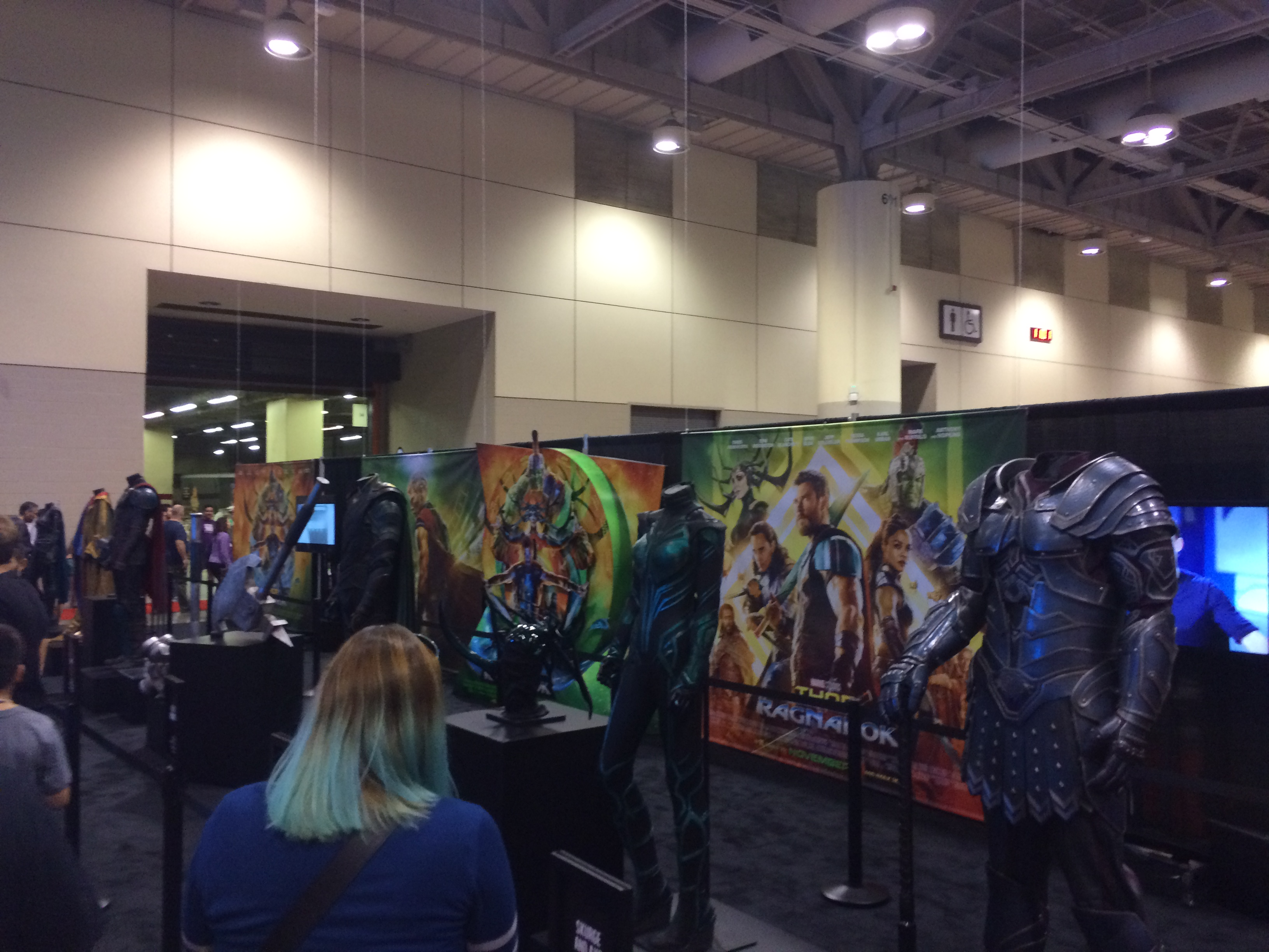 """""""Thor: Ragnarok"""" Costumes on Display at Fan Expo"""