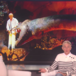 Ellen Addresses Her Ride Closure, Audio-Animatronic on Her Talk Show
