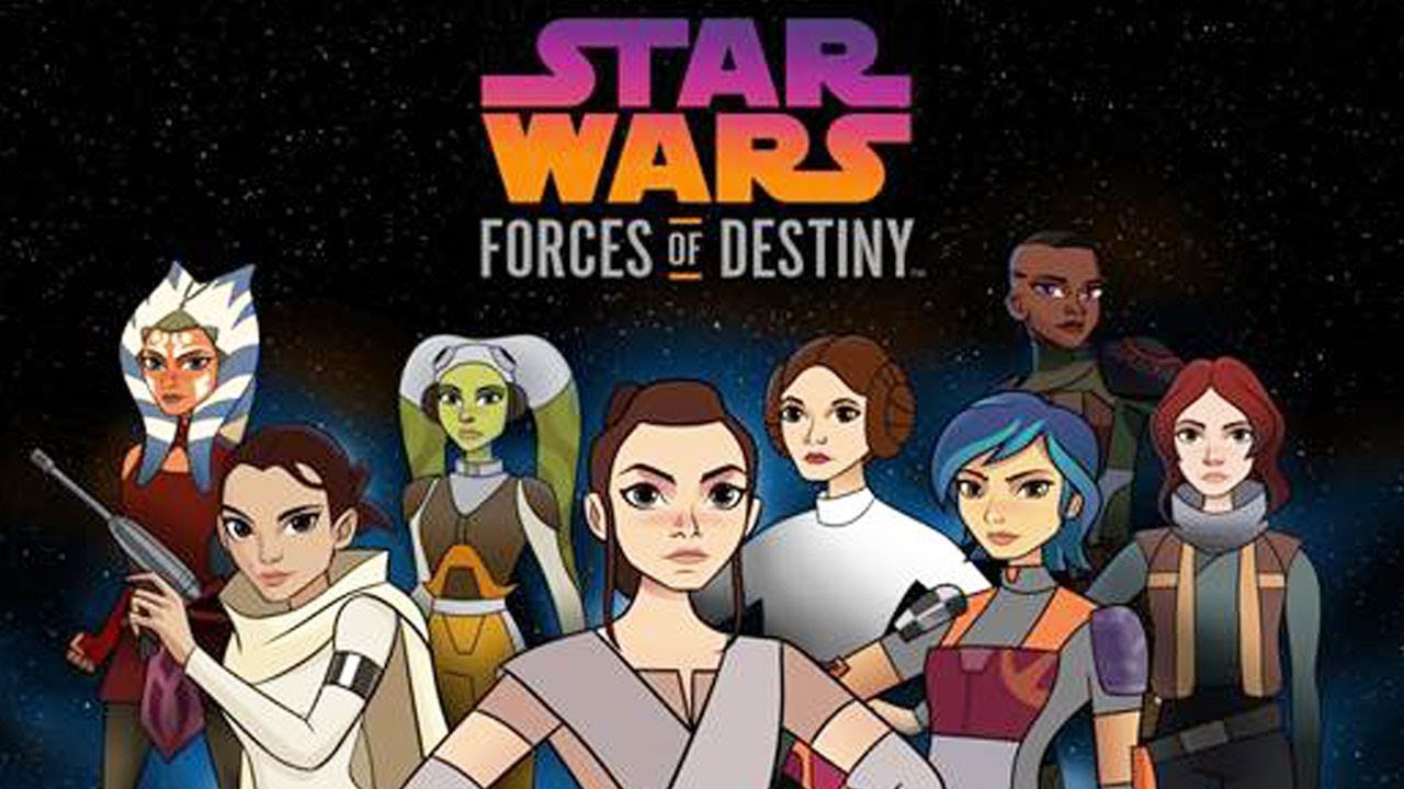 Two New Star Wars Forces of Destiny Specials Coming to Disney Channel;