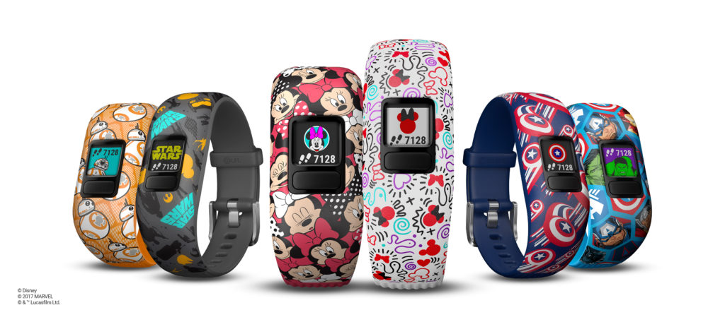 Garmin Launches Disney, Marvel, and Star Wars Fitness Trackers for Kids