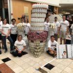 Disney VoluntEARS Craft Ratatouille CANstruction for Food Bank