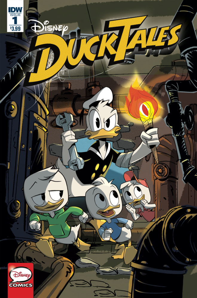 "Comic Review: ""Disney DuckTales #1"" (WOO HOO)"