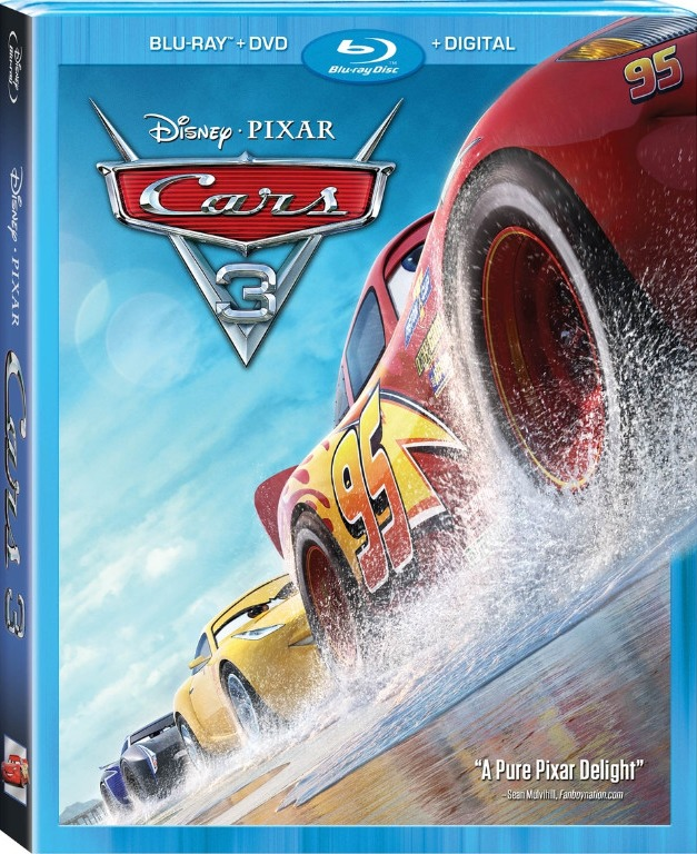 """Blu-Ray Review: """"Cars 3"""""""