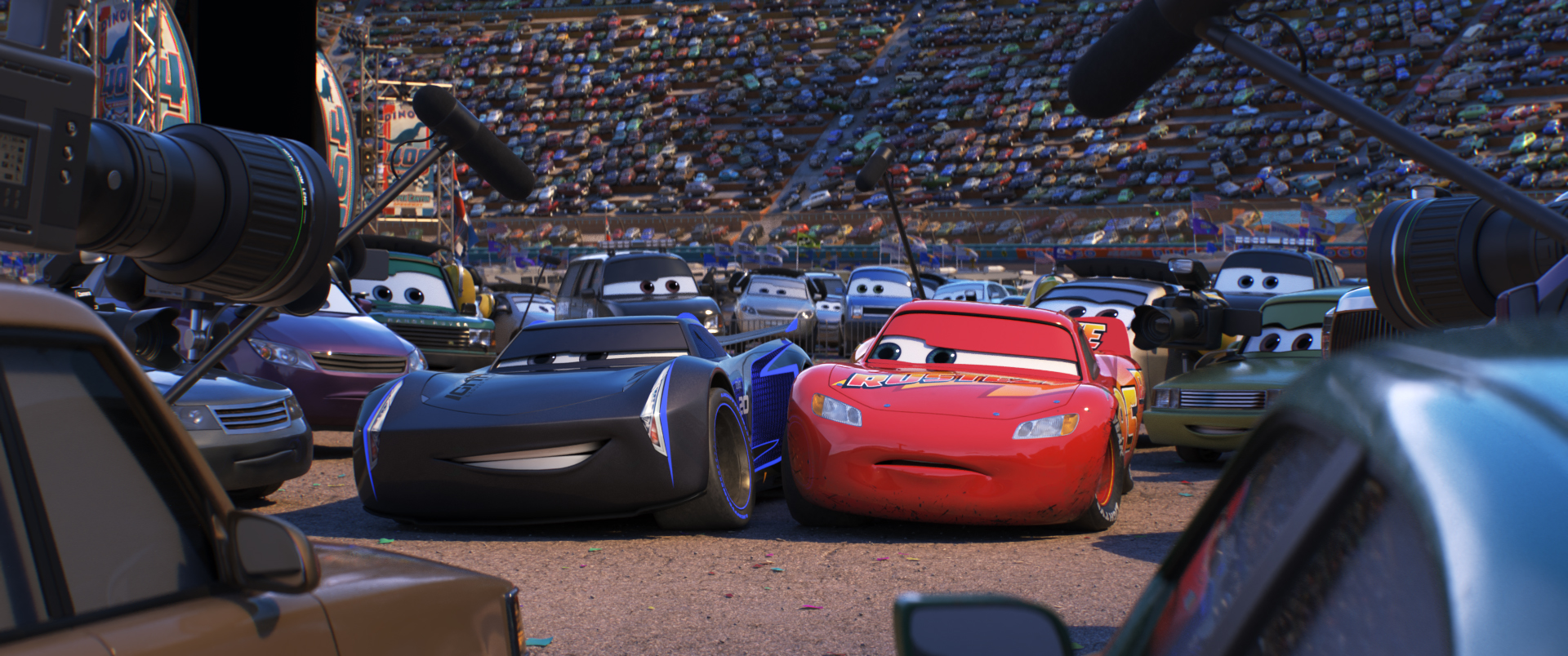 """Interview: """"Cars 3"""" Director Brian Fee"""