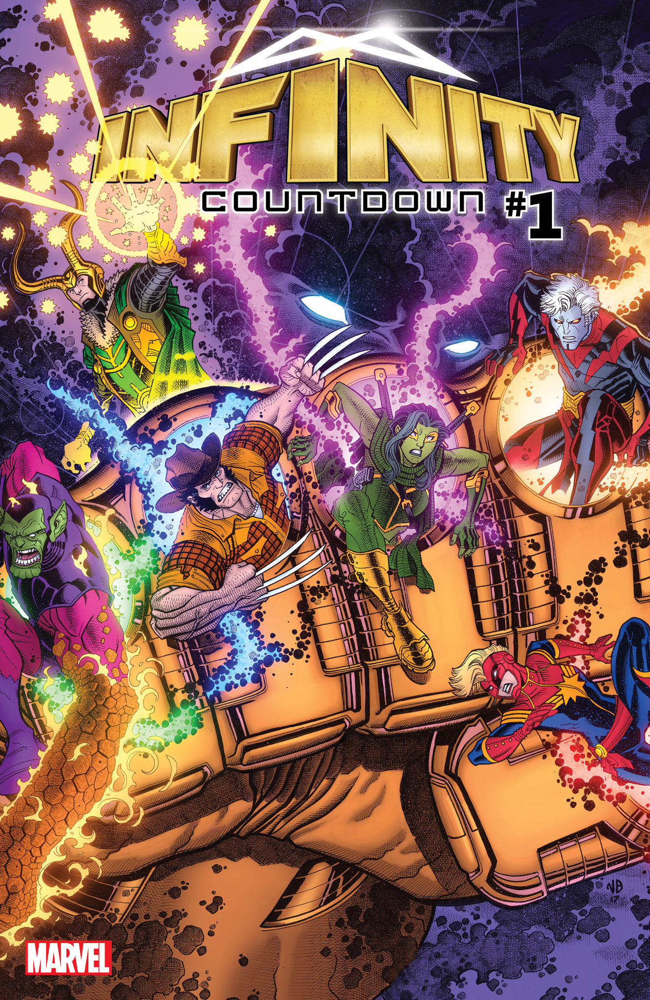 Marvel Reveals Infinity Countdown