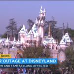 Power Outage Affects Parts of Disneyland