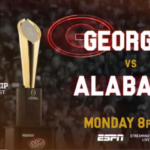 ESPN Announces MegaCast Coverage for 2018 College Football National Championship