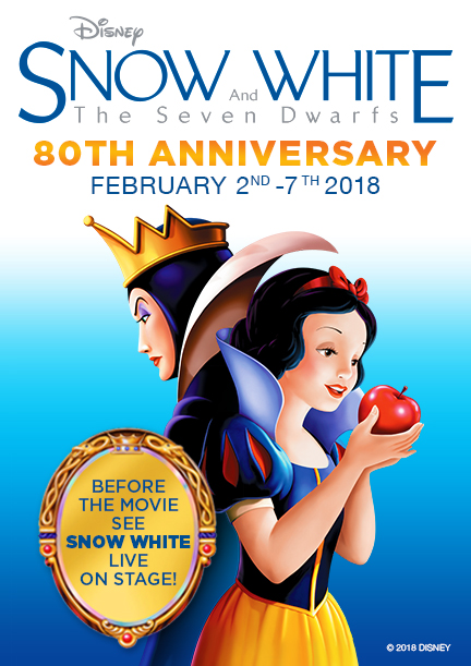El Capitan to Host 80th Anniversary Run of Snow White and the Seven Dwarfs