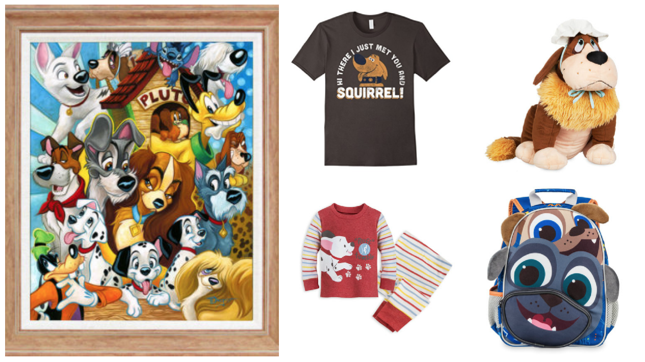 Celebrate the Year of the Dog with These Disney Dogs Items