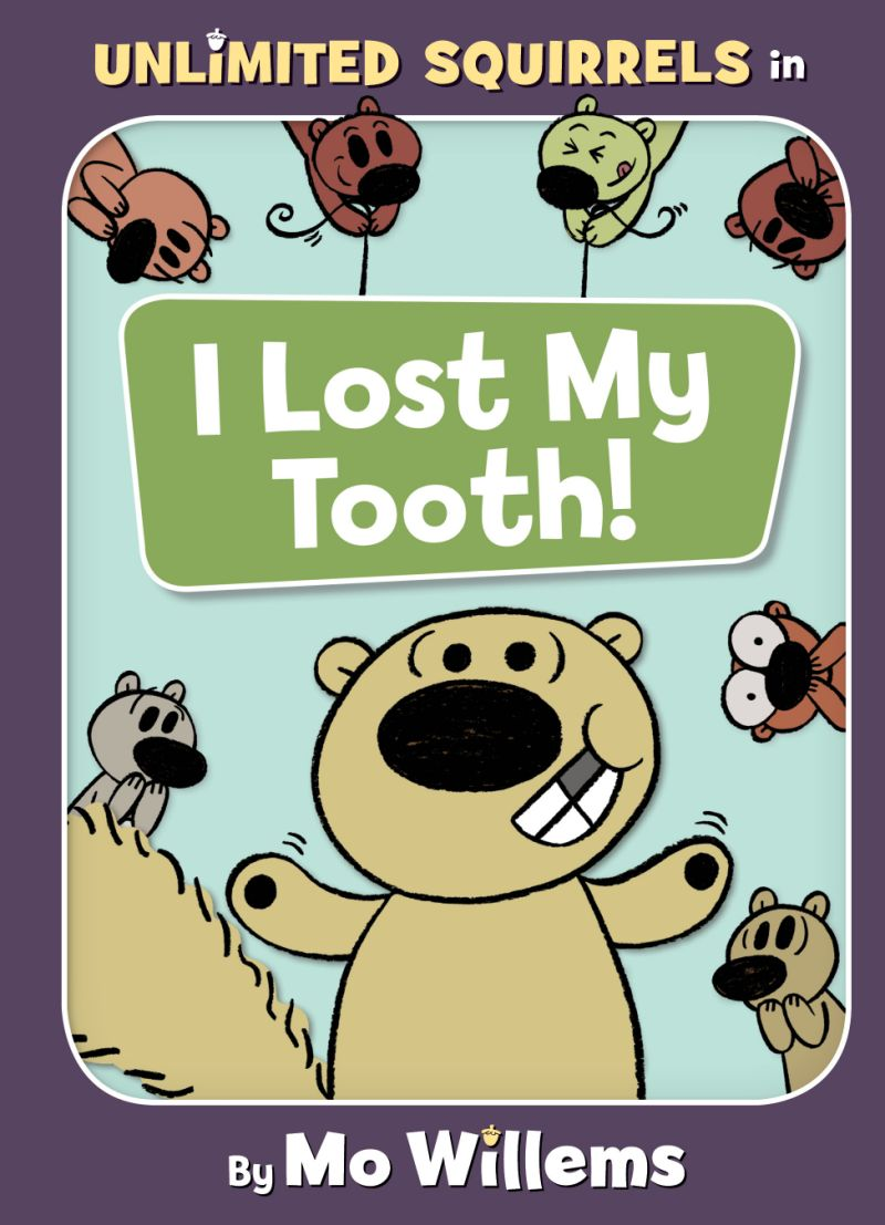 """Book Review: """"Unlimited Squirrels in I Lost My Tooth!"""" by Mo Willems"""