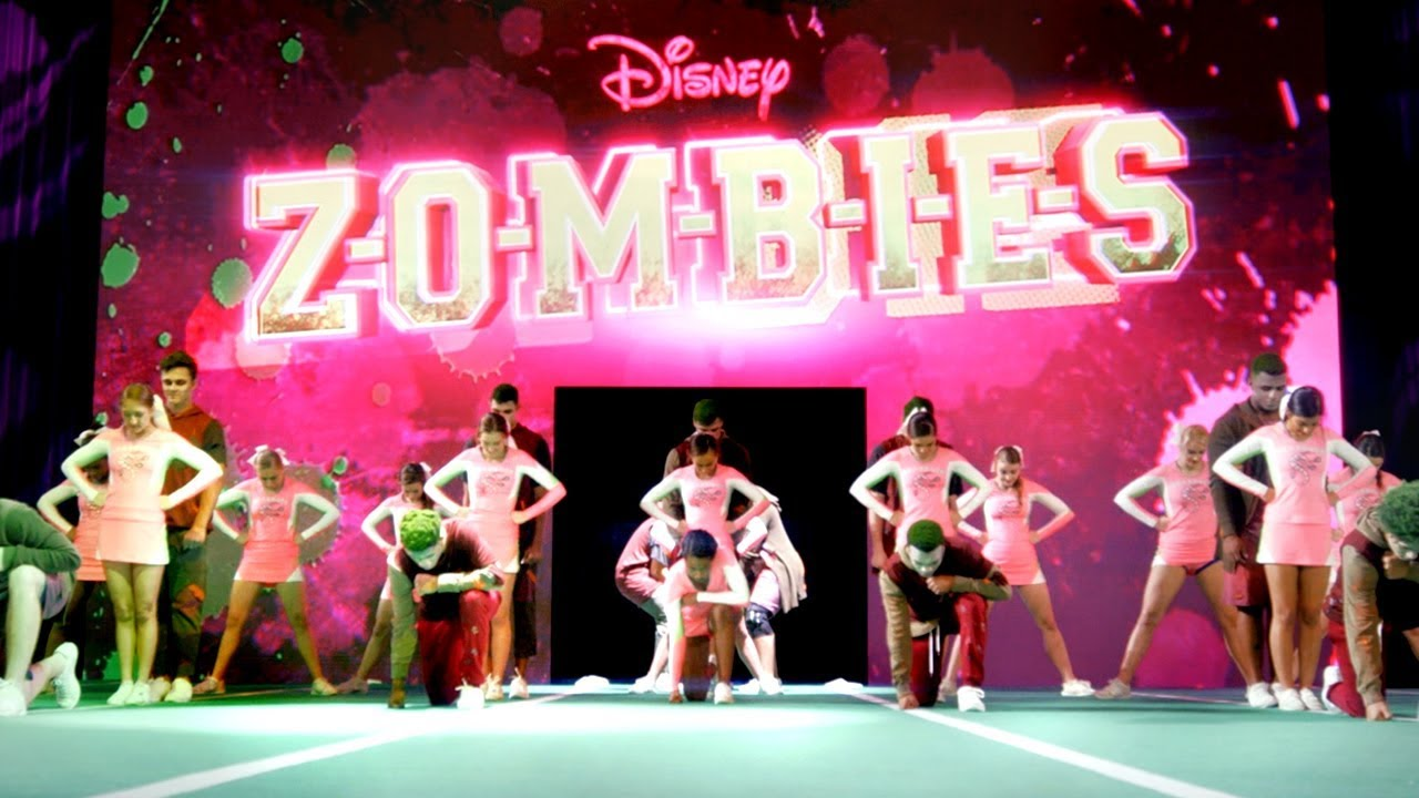 ZOMBIES Debut Themed Cheer Routine at Disney World