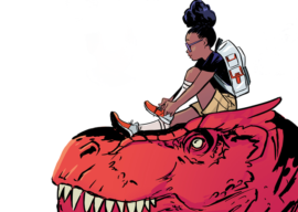 "Disney Reportedly Developing TV Series Adaptation of Marvel's ""Moon Girl and Devil Dinosaur"""
