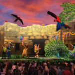 New Concept Art for UP! A Great Bird Adventure Show at Disney's Animal Kingdom Released