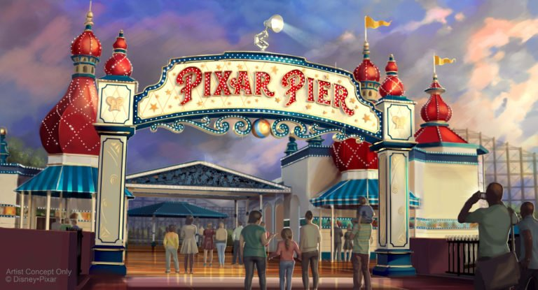 Pixar Pier Opening Set for June 23, 2018